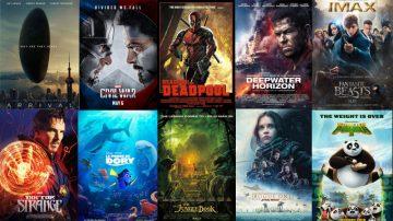 2016年最令人印象深刻的好莱坞电影TOP10