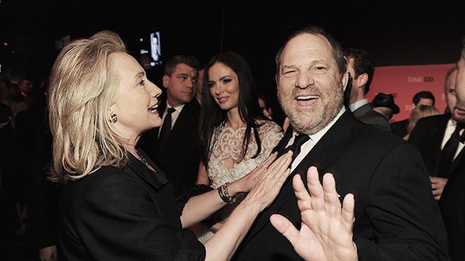 金主韦恩斯坦的性丑闻让奥巴马和希拉里尴尬不已