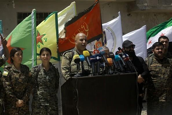 """""""伊斯兰国""""覆灭  叙军宣布解放IS""""首都""""拉卡"""