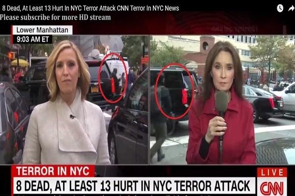 曼哈顿恐攻连线报导 眼尖网友:CNN这样播报妥当吗?