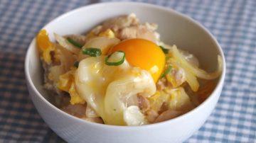 【美食天堂】日式著名亲子丼的家庭做法