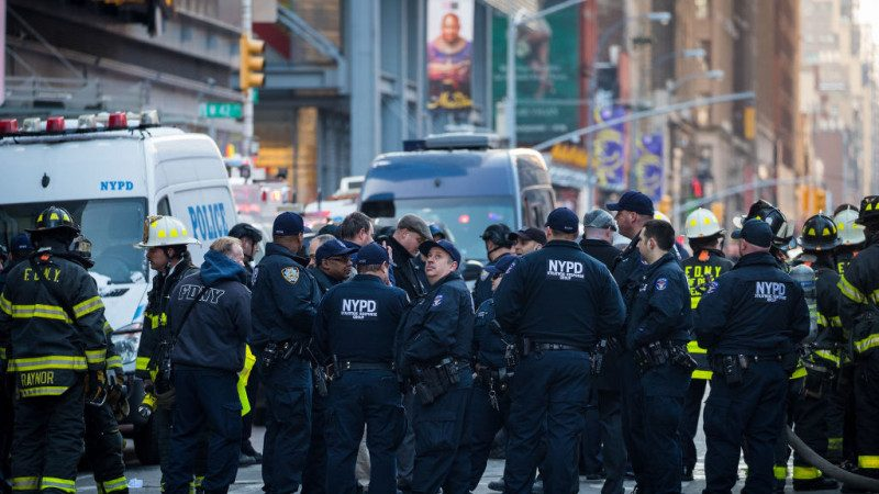 曼哈顿爆炸案:嫌犯引爆瞬间视频及抓捕高清照曝光(视频)