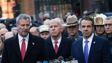 紐約自殺炸彈恐攻 州長:我們不會被嚇倒