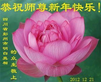 大陆百姓恭祝李洪志大师新年好(26条)