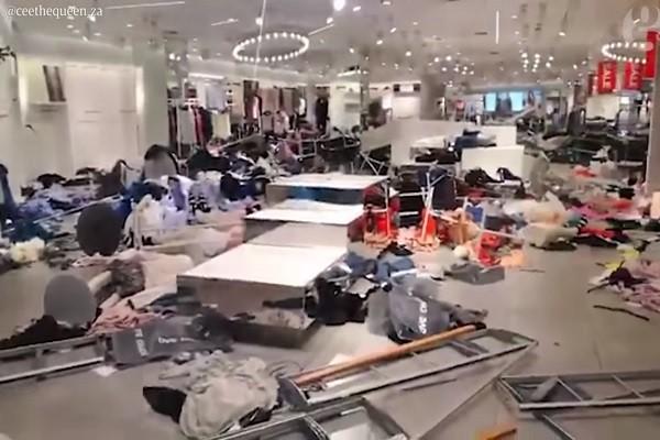 H&M一款童装遭炮轰种族歧视 南非多家分店遭砸