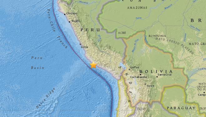 秘鲁地震下修为7.1 至少2死20伤(视频)