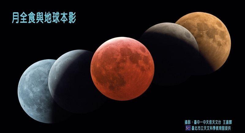 天文奇观 红月全食与超级满月历时逾5小时(直播回放)