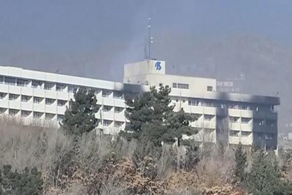 喀布尔洲际饭店遭攻击 受困住客:有种绝望气氛(视频)