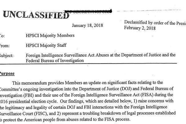 通俄调查密档公开 揭露奥巴马政府五大秘事