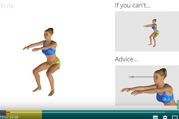 过年不忘减肥 7个简单的运动 快速消去大腿脂肪(视频)