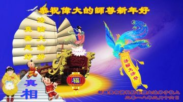 大陆资料点法轮功学员恭祝李洪志大师新年好