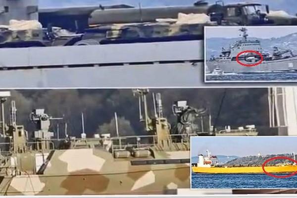 俄两军舰悄然前往叙利亚 上载军用设施