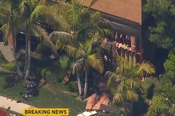 美南加州医疗大楼爆炸 建筑炸出大洞酿1死3伤