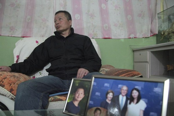 默克尔访华 高智晟女儿请求帮助寻找其父
