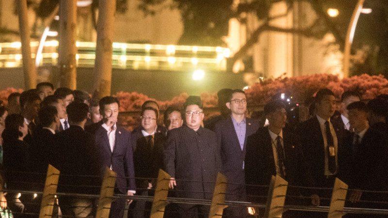 朝鲜官媒反常 速报金正恩夜游照片