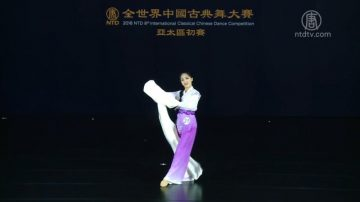 古典舞弘传统文化 青女选手感恩获升华