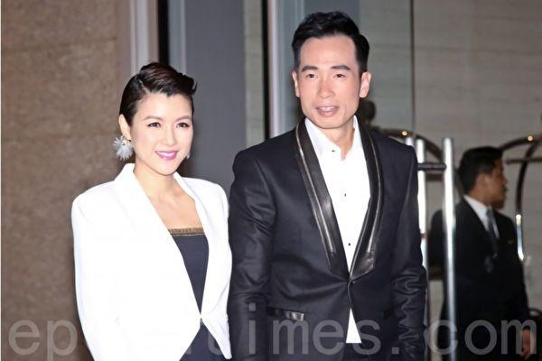 与陈茵媺纪念结婚五周年 陈豪包机游香港