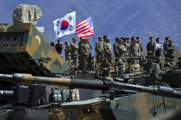 日媒曝中朝秘密协定 计划赶走驻韩美军