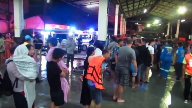 泰国普吉岛2艘观光船翻覆 中国游客死亡攀升至40人