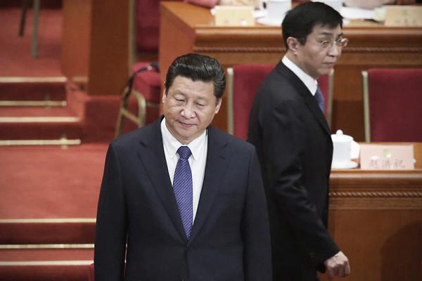 """贸战点燃中共分裂危机 """"党务大员""""被指误导习近平"""