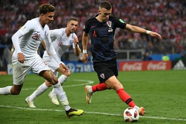 克罗地亚2:1胜英格兰 15日与法国争冠