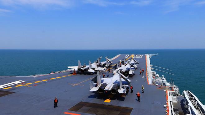 俄媒:歼-15舰载机存重大缺陷 中共难找替代机