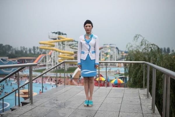 朝鲜飙破41度 去趟水上乐园要花半年薪水