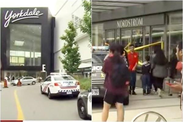 多伦多购物中心枪击 顾客急疏散 警寻2男嫌