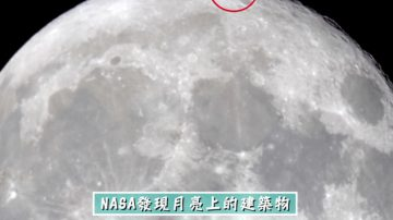 NASA拍到月球北極  發現疑似外星古文明建築(視頻)