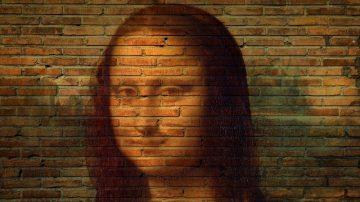 科學家用X光掃描蒙娜麗莎時,發現裡面有一個神秘的外星人臉?