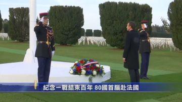 纪念一战结束百年 80国首脑赴法国