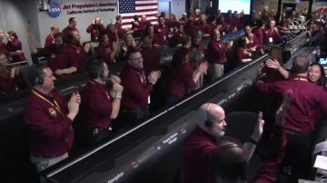 NASA「洞察號」成功著陸 將探索火星內部