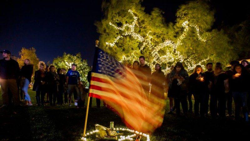 躲过赌城大屠杀 27岁男命丧加州枪击案