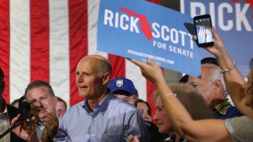 佛州选票数额突变威胁选举结果 川普誓言彻查
