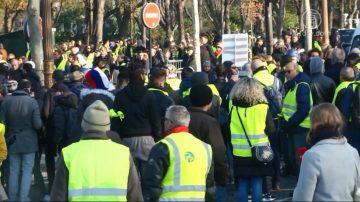 法国人抗议上调油税 希望优先改善收入