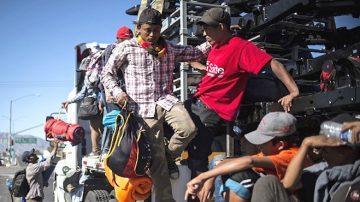大篷车移民藏500罪犯 川普:不会让他们来