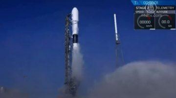SpaceX首份国家安全订单 发射美空军卫星