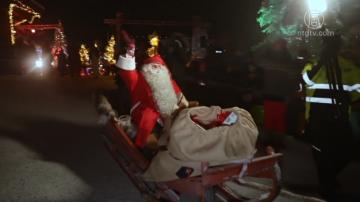 聖誕老人開始環球之旅