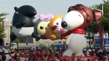 全台最大!23个大气球飞越高雄天空
