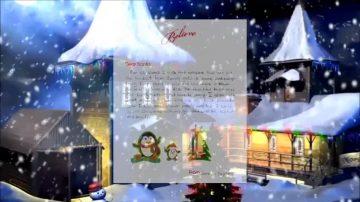 给圣诞老人写信 湾区孩子寄出愿望