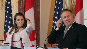 加拿大外长访美 聚焦中共拘押加拿大人