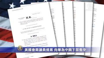 【禁聞】美國會兩議員提案 向華為中興下禁售令