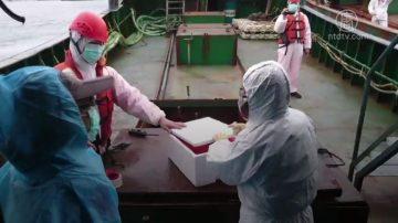 陆船10公斤猪肉闯澎湖 驱离无效强制带回