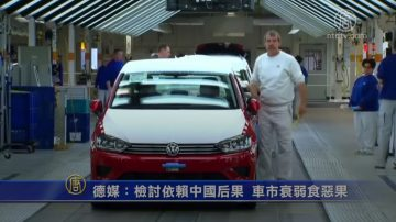 德媒:檢討依賴中國后果 車市衰弱食惡果