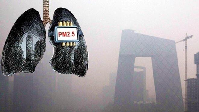 研究:陰霾讓中國人減壽3年 6天肺即變「黑」
