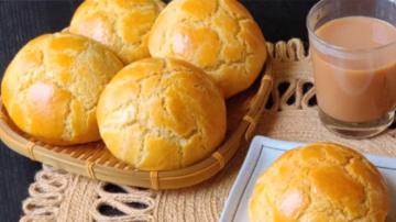 港式菠萝包 酥脆松软 美味可口(视频)