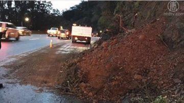 冬季风暴袭加州 多处公路关闭
