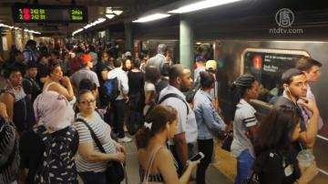 紐約通勤高峰延誤高達92% 一二月最糟