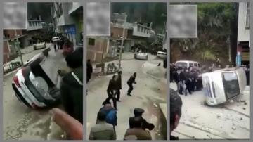 貴州強制火葬惹民憤 少數民族百民怒砸警車