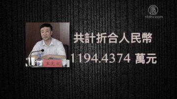吉林人大高官王克成获刑10年